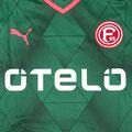 Trikot, Ausweichtrikot, Saison 2015/2016, Fortuna Düsseldorf, matchprepared, Nr. 6, Kevin Akpoguma, Puma, Otelo