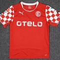 Trikot, Heimtrikot, Saison 2014/2015, Fortuna Düsseldorf, matchworn, Nr. 10, Michael Liendl, Alpenmaradona, Puma, Otelo