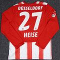 Trikot, Heimtrikot, Saison 2010/2011, Fortuna Düsseldorf, matchprepared, Nr. 27, Philip Heise, Puma, Stadtsparkasse Düsseldorf