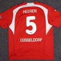 Trikot, Heimtrikot, Saison 2006/2007, Fortuna Düsseldorf, matchworn, Nr. 5, Henri Heeren, Puma, Stadtsparkasse Düsseldorf