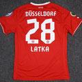 Trikot, Heimtrikot, Saison 2013/2014, Fortuna Düsseldorf, matchworn, Nr. 28, Martin Latka, Puma, Otelo