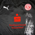 Trikot, Auswärtstrikot, Saison 2008/2009, Fortuna Düsseldorf, matchworn, Nr. 26, Kenan Sahin, Puma, Stadtsparkasse Düsseldorf