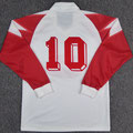 Trikot, Heimtrikot, Saison 1990/1991, Fortuna Düsseldorf, matchworn, Nr. 10, Thomas Allofs, Puma, Zamek