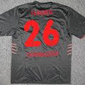 Trikot, Auswärtstrikot (Variante), Saison 2005/2006, Fortuna Düsseldorf, matchworn, Nr. 26, Marcus Feinbier, Puma, Die Toten Hosen