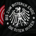 Trikot, Sondertrikot, Alles aus Liebe, Fortuna Düsseldorf, Saison 2019/20, Spielerversion, Nr. 18, Thomas Pledl, Die Toten Hosen, Bis zum bitteren Ende