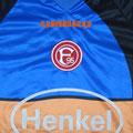 Trikot, Torwarttrikot, Saison 2000/2001, Fortuna Düsseldorf, matchworn, Nr. 1, Mirko Bitzer, Umbro, Henkel