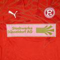 Trikot, Torwarttrikot, Rohling, rot, Saison 2010/11, Fortuna Düsseldorf, Jugend, Puma, Stadtwerke Düsseldorf