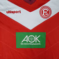 Trikot, Heimtrikot, Saison 2018/2019, Fortuna Düsseldorf, Jugend, U17, Sponsorentrikot, Uhlsport, AOK
