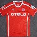 Trikot, Heimtrikot, Saison 2013/2014, Fortuna Düsseldorf, matchworn, Nr. 27, Stefan Reisinger, Puma, Otelo