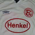 Trikot, Auswärtstrikot, Saison 2000/2001, Fortuna Düsseldorf, Jugend, matchworn, Umbro, Henkel