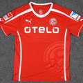 Trikot, Heimtrikot, Saison 2013/2014, Fortuna Düsseldorf, matchworn, Nr. 30, Aristide Bancé, Puma, Otelo