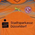 Trikot, Torwarttrikot, Saison 2010/2011, Fortuna Düsseldorf, matchworn, Nr. 1, Michael Melka, Puma, Stadtsparkasse Düsseldorf