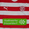Trikot, Heimtrikot, Saison 2009/2010, Fortuna Düsseldorf, U23, Zwote, matchworn, Puma, Stadtwerke Düsseldorf, Regionalliga West