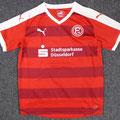 Trikot, Auswärtstrikot, Saison 2016/2017, Fortuna Düsseldorf, Jugend, U18, matchworn, Puma, Stadtsparkasse Düsseldorf