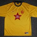 "Trikot, Fanclub-Trikot, Fanclub ""Rote Karte"", Saison 2001/2002, Fortuna Düsseldorf, Nike, Die Toten Hosen"