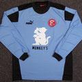 Torwarttrikot, Trikot, Saison 2003/2004, Fortuna Düsseldorf, matchworn, Patrick Deuß, Puma, Monkey´s