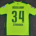 Trikot, 2. Ausweichtrikot, Saison 2015/2016, Fortuna Düsseldorf, matchprepared, Nr. 34, Christian Strohdiek, Puma, Otelo