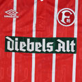 Trikot, Auswärtstrikot, Saison 1994/1995, Fortuna Düsseldorf, matchworn, Nr. 7, Vlatko Glavas, Umbro, Diebels Alt, Diebels