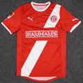 "Trikot, Heimtrikot, Saison 2011/2012, Fortuna Düsseldorf, matchworn, Nr. 23, Robbie ""Skippy"" Kruse, Puma, Bauhaus"