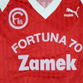 Trikot, Sondertrikot, Saison 1988/89, Fortuna Düsseldorf, Traditionsmannschaft, Fortuna 70, mw, Nr. 2, Puma, Zamek
