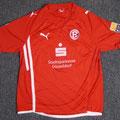 Trikot, Heimtrikot, Saison 2009/2010, Fortuna Düsseldorf, matchworn, Nr. 30, Olivier Caillas, Puma, Stadtsparkasse Düsseldorf