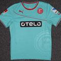 Trikot, Ausweichtrikot, Saison 2013/2014, Fortuna Düsseldorf, matchworn, Nr. 30, Aristide Bancé, Puma, Otelo