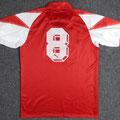 Trikot, Auswärtstrikot, Saison 1991/1992, Fortuna Düsseldorf, matchworn, Nr. 8. Michael Schütz, Puma, Zamek