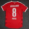 Trikot, Heimtrikot, Saison 2015/2016, Fortuna Düsseldorf, matchprepared, Nr. 8, Sergio Pinto, Puma, Otelo