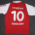 Trikot, Heimtrikot, Saison 2004/2005, Fortuna Düsseldorf, matchworn, Nr. 10, Sergii Tytarchuk, Puma, Stadtsparkasse Düsseldorf