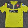 Trikot, Torwarttrikot, Saison 2013/2014, Fortuna Düsseldorf, matchworn, Nr. 33, Fabian Giefer, Puma, Otelo