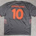 Trikot, Auswärtstrikot, Saison 2005/2006, Fortuna Düsseldorf, U23, Zwote, matchworn, Puma, Die Toten Hosen