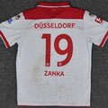 "Trikot, Heimtrikot, Fortuna Düsseldorf, Saison 2019/20, matchworn, Nr. 19, Matthias ""Zanka"" Jorgensen, Uhlsport, Henkel, Toyo Tires"