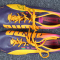 Fußballschuhe, Schuhe, Fortuna Düsseldorf, Saison 2013/14, Entwurf/Prototyp, Nr. 30, Aristide Bancé, Puma, signiert, personalized, personalisiert