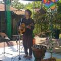 2014.5.11 UTA-SORA。野外ライブの気持ちいい季節です。