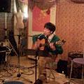 2014.2.1 KABA@水沢MIUMIU。スピッツとか歌いました。