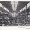 Inneransicht der Gießerei um 1900