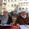 Heinz Blum und Evelyne Bornhauser