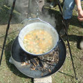 Die Suppe kocht