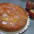 Gâteau aux pommes du verger