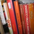 Mes livres de cuisine