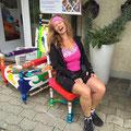 auf dem Jakobsweg und kurz angehalten in Wattenwil - Begeisterung pur