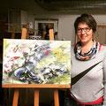 Workshop + Energiearbeit mit der tollen Künstlerin Sabine Meister