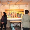 mitten im Raum in der Galerie Dorf-Träff in Opfikon