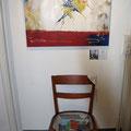 Der Begegnungsstuhl von David Cagliola in Opfikon