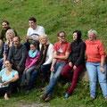 motivierte Seminarteilnehmer bei Margit Dummer / Carnuthof