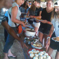 We offer three typical Tanzanian meals per day