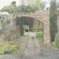 Création d'une entrée à Auriol © Rc-Paysage