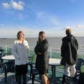 2. Vorsitzende Anja Johannsen und unser neues Mitglied....