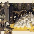 星のからくり月の海 - 2016(季刊エス55号掲載イラスト)