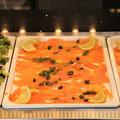 O'Grill - Buffet - Nos entrées - Saumon fumé